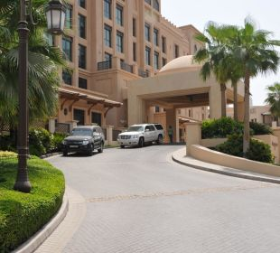 Hotelzufahrt Vida Hotel Downtown Dubai