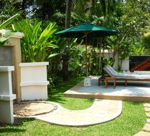 Außendusche Hotel Banyan Tree Phuket