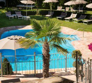 Außenpool Dolce Vita Hotel Jagdhof Aktiv & Bike Resort