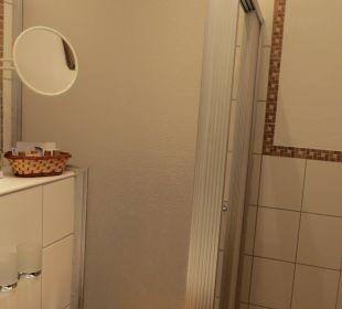 Badezimmer, Standard Doppelzimmer Vital Hotel Zum Ritter