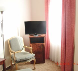 Sitz und TV Ecke Hotel Terrace