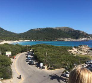 Der Weg zum Strand Hotel & Spa S'Entrador Playa