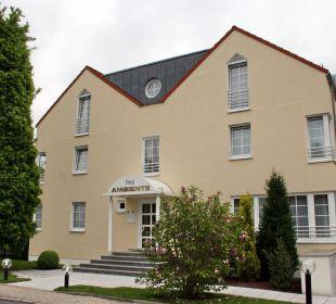 Hotel Ambiente - Vorderansicht Hotel Ambiente (Hotelbetrieb eingestellt)
