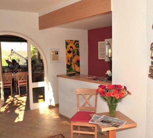 Eingang zum Frühstücksraum Hotel Trifthof
