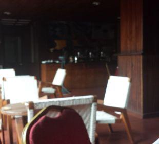 Offener Frühstücksraum zum Innenhof Shalimar Hotel
