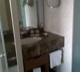 Kleines Waschbecken mit wenig Platz Pullman Dresden Newa