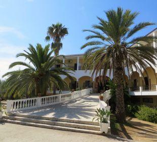 Eingang Hotel Hotel Paradise Corfu