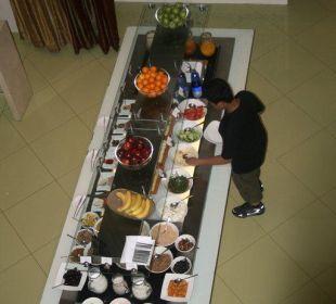 Frühstücksbüffet Vida Hotel Downtown Dubai