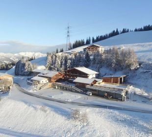 Winterlandschaft Alpengasthof Enzianhof