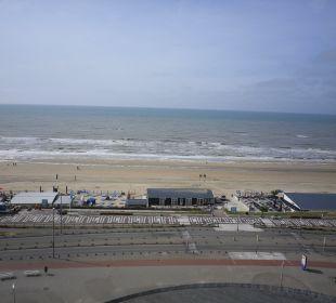 Blick aus dem Hotelzimmer Center Parcs Park Zandvoort Strandhotel