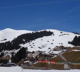 Blick Richtung Eggalm Hotel Alpin Spa Tuxerhof