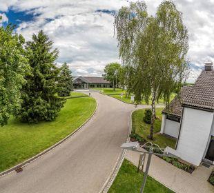Distanz vom Haupthaus zur Dependance Der Öschberghof