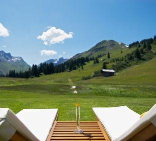Sommer Liegestühle Hotel Mohnenfluh