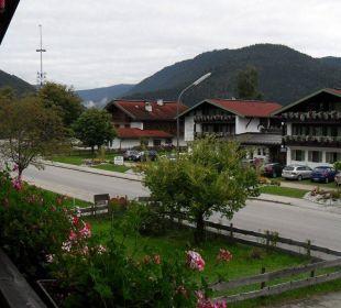 Zimmeraussicht Gästehaus Flora