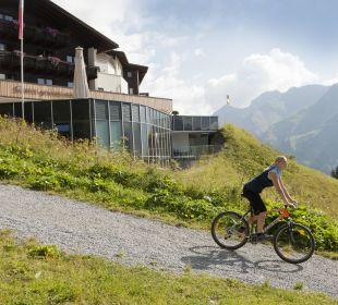 Mountainbiken am Arlberg Hotel Goldener Berg