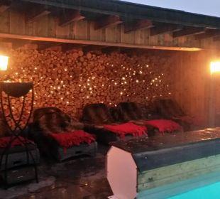 Pool und Panoramsauna Hotel Staudacherhof