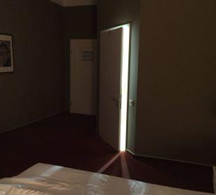 Badtür ständig offen Hotel Wyndham Garden Quedlinburg Stadtschloss