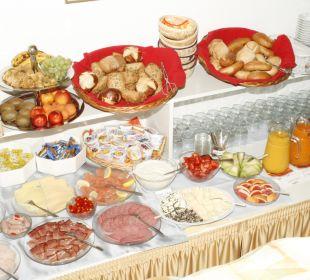 Frühstücksbüffet Hotel Garni Körschtal