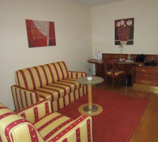 Wohnzimmer NewLivingHome Appartements Hamburg