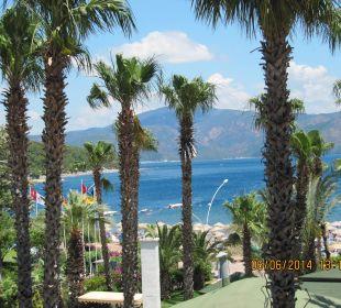 Aussicht auf kleine Inseln - sehr schön Hotel Aqua
