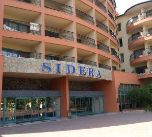 Hotel Eingang Club Sidera (Vorgänger-Hotel – existiert nicht mehr)