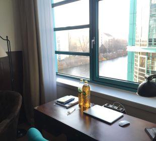 Blick aus dem Zimmer Ameron Hotel Abion Spreebogen Waterside Berlin