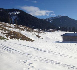 Und wieder Schneee Hubertus Alpin Lodge & Spa