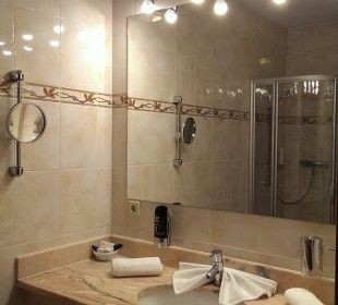 Badezimmer Hotel Gartnerkofel
