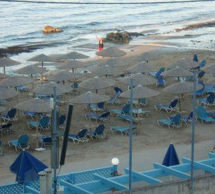 Ausblick vom Balkon  Hotel Corissia Princess