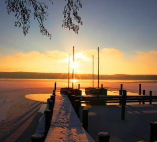 Wintermorgen am Templiner See Kongresshotel Potsdam am Templiner See