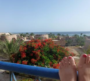 Ein wunderschöner Blick vom Balkon,  Hotel Utopia Beach Club