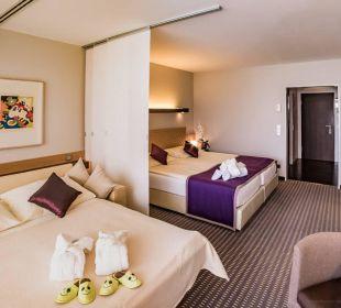 Doppelzimmer im Haupthaus mit Schlafcouch Der Öschberghof