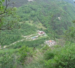 Blick von der Wallfahrtskirche Hotel Bellavista