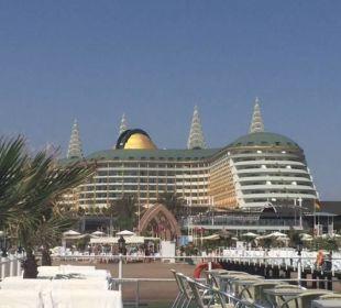 Vom Steg aus Hotel Delphin Imperial