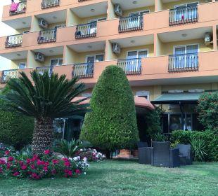 Gartenanlage Hotel Arabella World