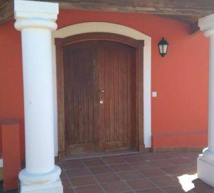Eingang Brisas del Mar Villas