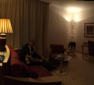 Panoramic view of our suite Hotel Palace Berlin