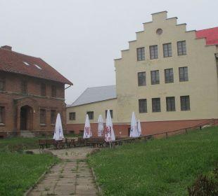 Der ausgebaute Reitstall Hotel Zamek Karnity