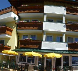 Panoramaaufnahme vom Hotel Castel in Serfaus Hotel Castel