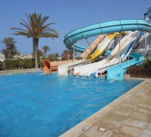 Rutschanlage Hotel Fiesta Beach Djerba