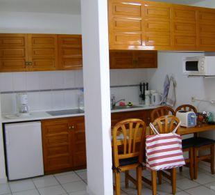 Küchenzeile Bungalow 16 Bungalows & Appartements Playamar