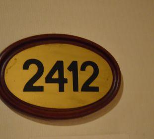 Zimmer Nummer Hotel Holiday Inn Chiangmai