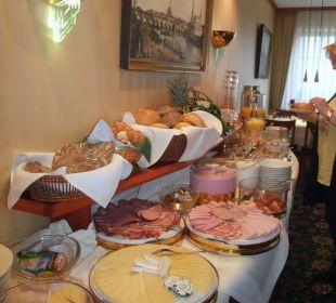 Frühstücksbüffet  Hotel Ambiente (Hotelbetrieb eingestellt)