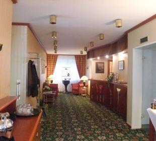 Rezeption Hotel Ambiente Hotel Ambiente (Hotelbetrieb eingestellt)