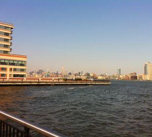 Hotel & Blick nach Manhattan Hotel Hyatt Regency Jersey City On The Hudson