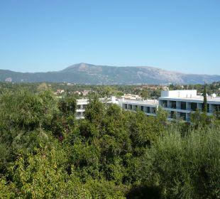 Blick aus Zimmer 344 Hotel Paradise Corfu