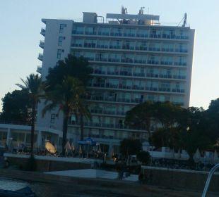 Hotel vom Wasser fotografiert Fiesta Hotel Milord