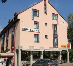 Hotel Außenansicht Hotel Garni Körschtal
