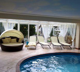 Schöner Pool Hotel Alpenhof Passeiertal