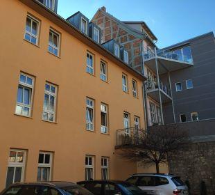 Innenhof Hotel Wyndham Garden Quedlinburg Stadtschloss